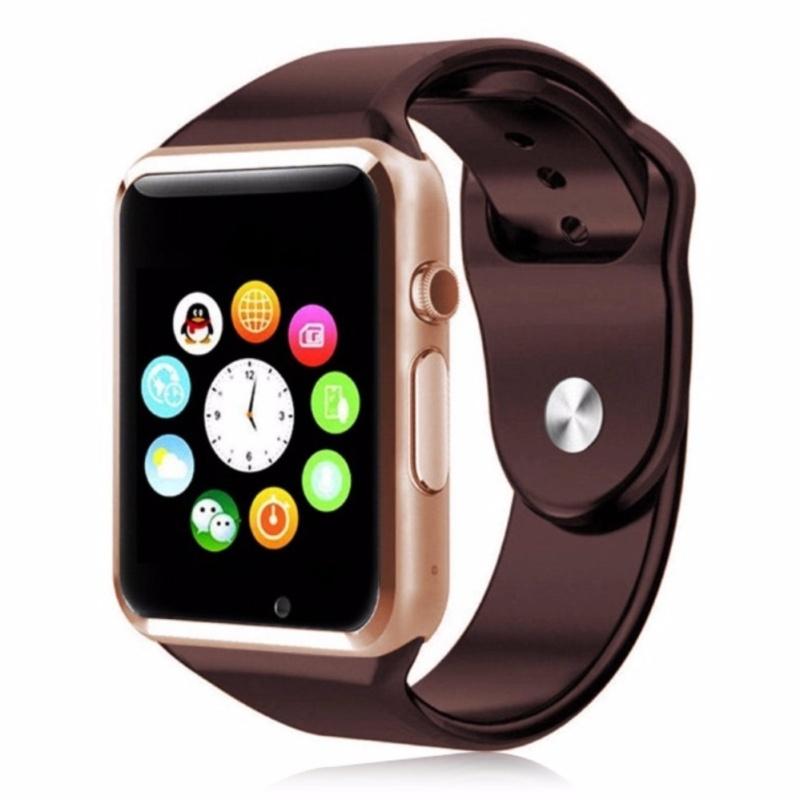 Đồng hồ thông minh smartwatch A1 Nâu bán chạy