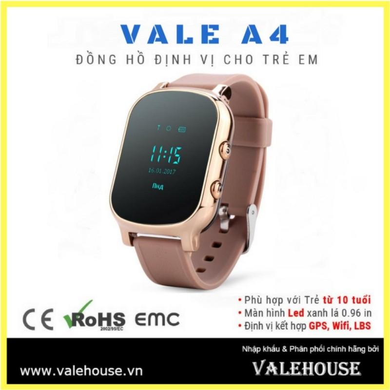 Đồng hồ thông minh trẻ em, người cao tuổi VALE A4 VÀNG 012 bán chạy