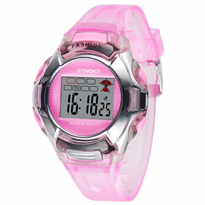 Đồng hồ trẻ em chống nước Synoke 99329 (màu hồng) bán chạy