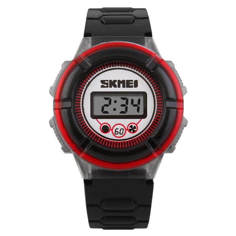 Đồng hồ trẻ em dây cao su Skmei 1097 (Đen) bán chạy