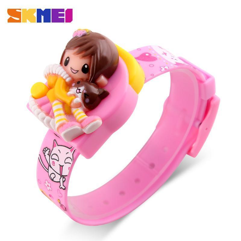 Đồng hồ trẻ em dây nhựa SKMEI DG1240 (Version Childlike Innocence) bán chạy