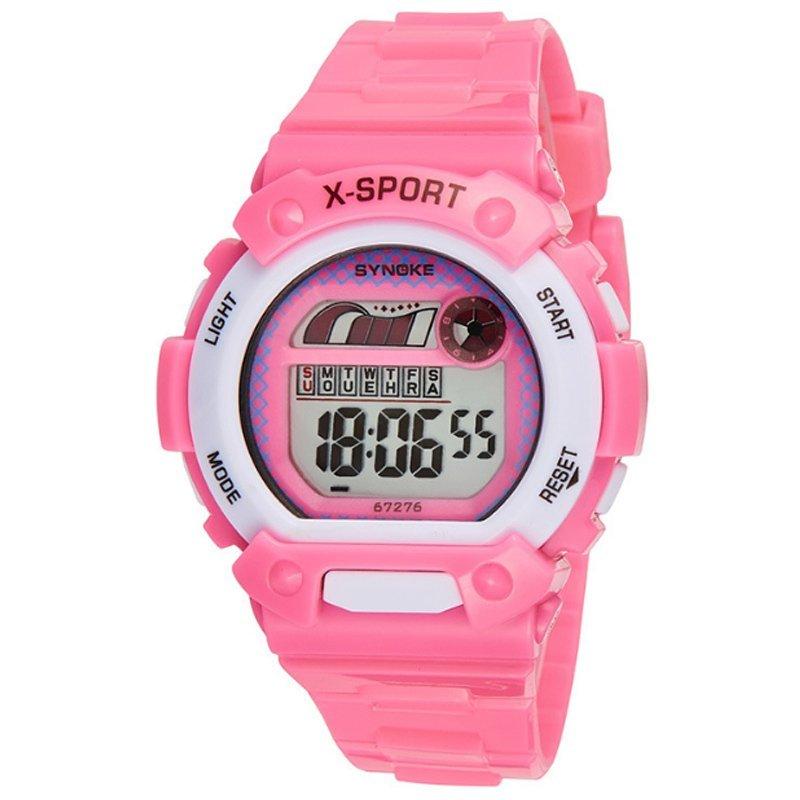 Đồng hồ trẻ em dây nhựa Synoke 67276 (Hồng) bán chạy