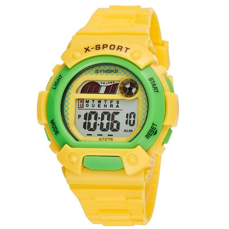 Đồng hồ trẻ em dây nhựa Synoke 67276 (Vàng) bán chạy