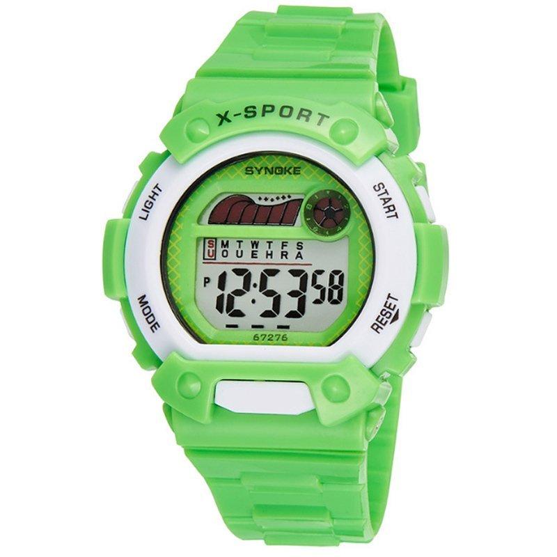 Đồng hồ trẻ em dây nhựa Synoke 67276 (Xanh lá) bán chạy