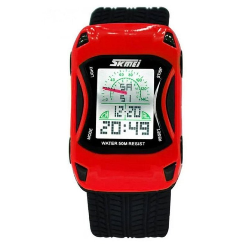 Đồng hồ trẻ em hình xe hơi Skmei 0961 (Đỏ) bán chạy