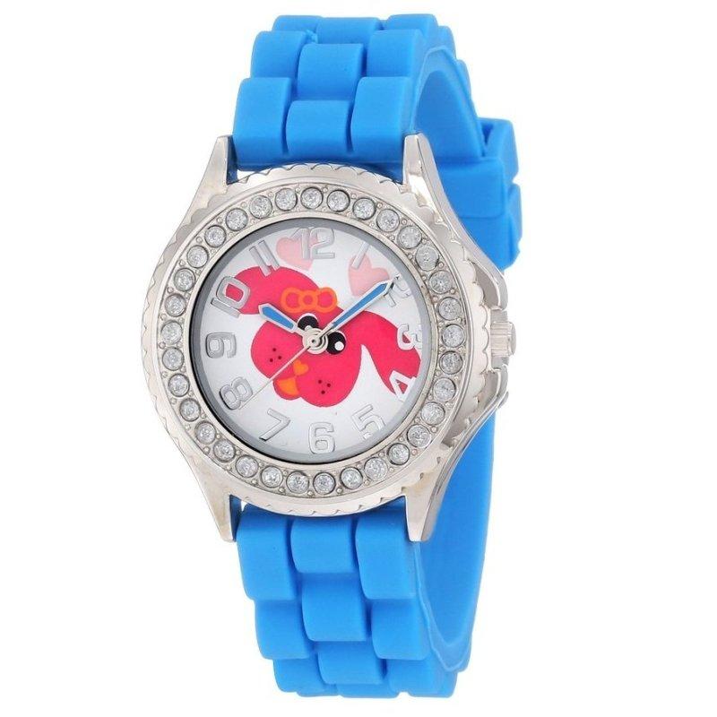 Đồng hồ trẻ em unisex dây cao su Frenzy Kids' FR799 Blue Rubber Band Dog Watch (Mỹ) bán chạy