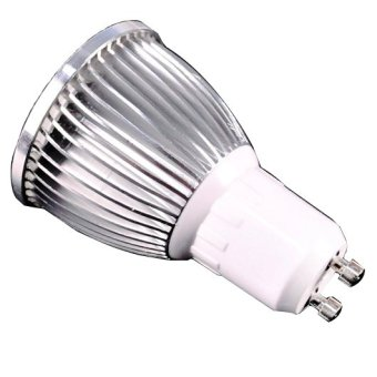 ETOP 5W GU10 COB LED Warm White Light Bulb Lamp (White) - intl