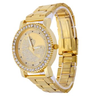 Fashion Brand Women Leopard Watches Analog Quartz Dial Wristwatch - Intl