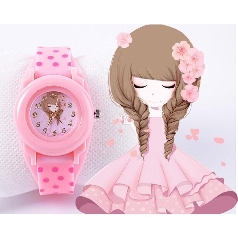 Fashion Children Watches Silicone Wristwatches Jelly Kids Clock - intl bán chạy