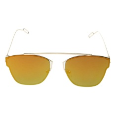 Giá Khuyến Mại Fashion Colorful Flat Sunglasses (Rose Gold) – intl  crystalawaking