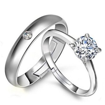Fashion Lovers Rings Silver Adjustable Couple Ring Jewelry E019 -intl - 8572883 , OE680OTAA46UIJVNAMZ-7608636 , 224_OE680OTAA46UIJVNAMZ-7608636 , 332000 , Fashion-Lovers-Rings-Silver-Adjustable-Couple-Ring-Jewelry-E019-intl-224_OE680OTAA46UIJVNAMZ-7608636 , lazada.vn , Fashion Lovers Rings Silver Adjustable Couple Ring J