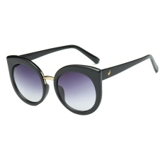 Giá Fashion Women Female Girl Lady Cat Eye Metal Sunglasses(Grey)-one size – intl   UNIQUE AMANDA