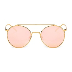 Nơi Bán Female Chic Circle Frame Colorful Sunglasses(Pink)-one size – intl  UNIQUE AMANDA