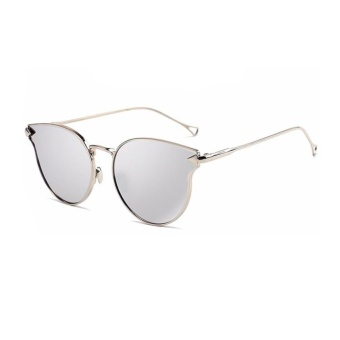 So Sánh Giá Female New Arrival Cat Eye Glasses Model Show Chic Arrow Sunglasses(Silver)-one size – intl   UNIQUE AMANDA