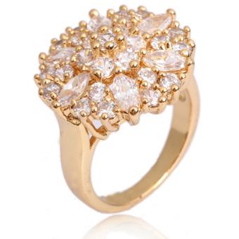 Finger Ring Jewelry 18K Gold Filled (Intl)