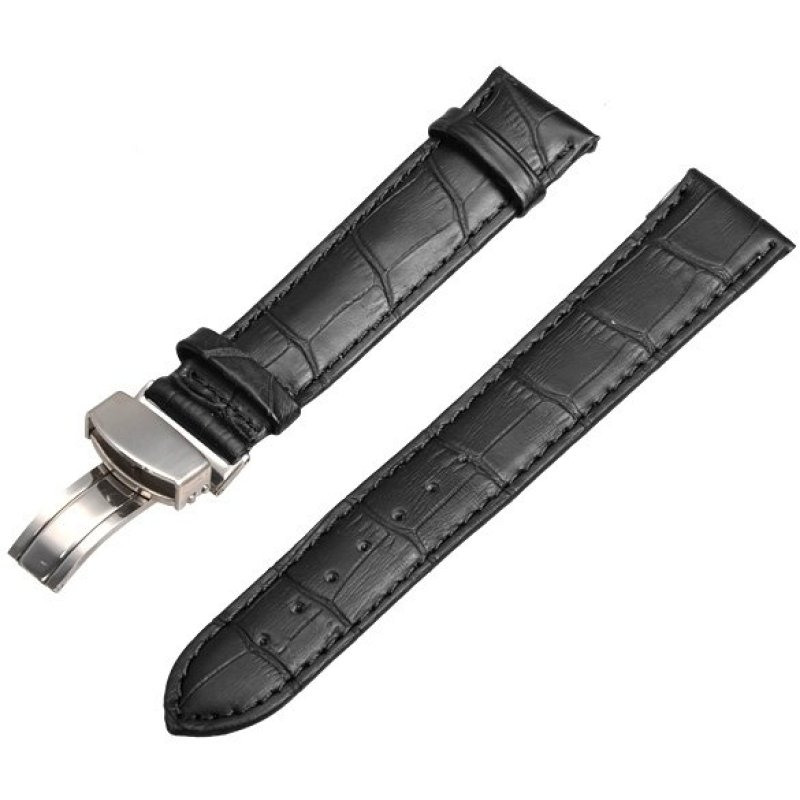 Nơi bán Folding Clasp Buckle Synthetic Leather Watch - Intl - intl