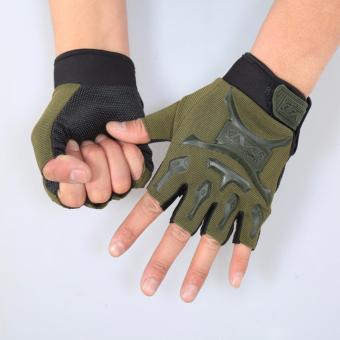 Găng tay chuyên dành cho Phượt thủ MZ816 (Xanh lính)