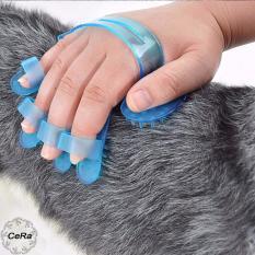 Găng Tay Tắm Cho Chó Tiện Dụng Size Tự Điều Chỉnh - CeRa Shop