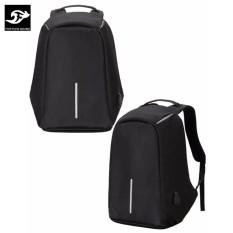 [Giá Hot]Balo chống trộm, chống nước Có Cổng Sạc USB vừa laptop 16inch LOẠI DÀY 1120 (Đen)