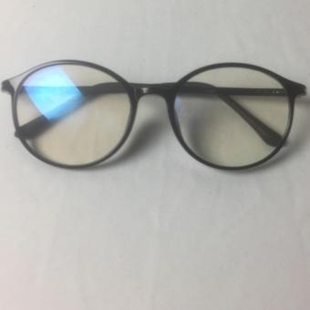 Gọng dẻo kính cận mắt mèo J182 (ĐEN)