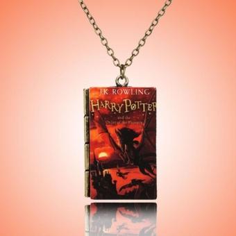 Harry Potter Necklace Choker Tiny Notebook Series Jewellry Decoration Boy - intl
