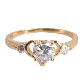 Heart Woman Ring 18K Gold Filled (Intl) - 8559020 , OE680OTAA14CWAVNAMZ-1625874 , 224_OE680OTAA14CWAVNAMZ-1625874 , 176000 , Heart-Woman-Ring-18K-Gold-Filled-Intl-224_OE680OTAA14CWAVNAMZ-1625874 , lazada.vn , Heart Woman Ring 18K Gold Filled (Intl)