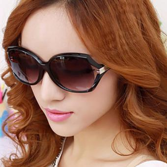Mắt kính nữ Beauti thời trang phong cách Châu Âu+Bao da H170(ĐEN)