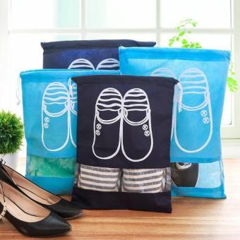 Bộ 4 Túi Vải Đựng Giày Chống Bụi Tiện Lợi