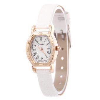 Đồng hồ nữ mặt vuông bầu xinh xinh