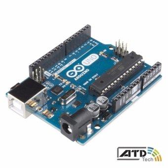Arduino Uno R3 (tặng hộp bảo vệ + cáp USB)