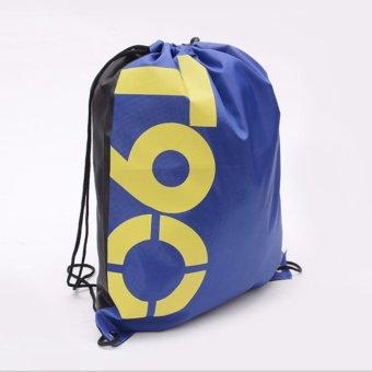 Túi du lịch dây rút vải dù chống thấm New4all T9O (Xanh)