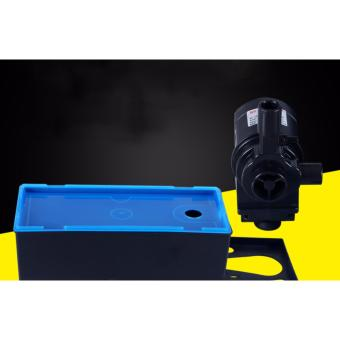 Cách làm trong nước bể cá cảnh - Máy bơm + máng lọc bể cá KRS388 công suất lớn 1785 L/H hiệu quả 3 trong 1 - BH UY TÍN.