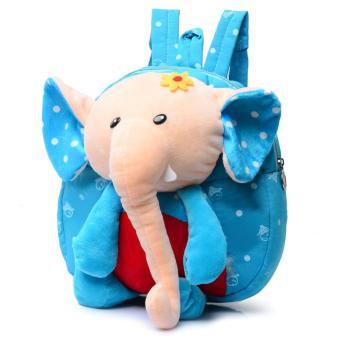 Balo chú voi trẻ em ngộ nghĩnh cho bé trai (Xanh)