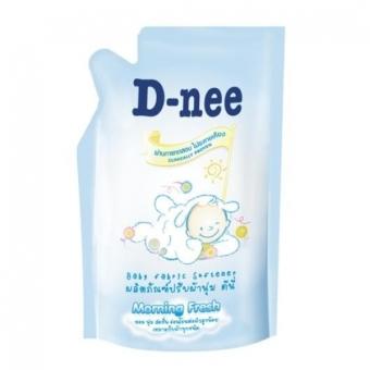 Nước xả mềm quần áo em bé D-nee 600ml (xanh)