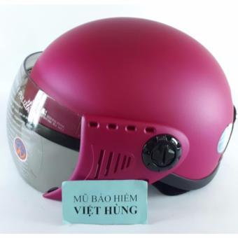 Mũ bảo hiểm GRS A08K - Đào nhám (Mũ dành cho người đầu nhỏ hoặc trẻ em trung học phổ thông)