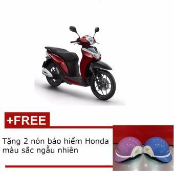 Xe tay ga Honda SH mode cá tính - Đỏ đen + Tặng 2 nón bảo hiểm Honda thời trang màu sắc ngẫu nhiên
