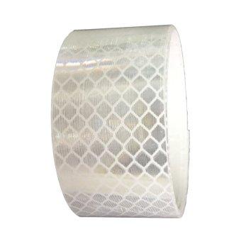 Băng keo phản quang kim cương xe ô tô 3M 4090 Diamond Grade DG3 Reflective Sheeting 50mmx1m (Trắng)