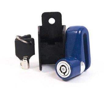 Khoá đĩa xe máy chống trộm (xanh)