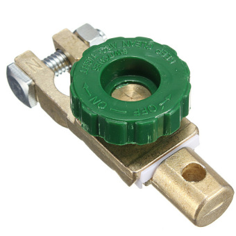 Green Car Battery Link Terminal Quick Cut-off Disconnect Master Kill Shut Switch - Intl