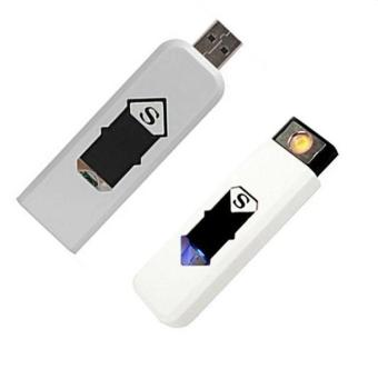 Bộ 2 cái hộp quẹt điện sạc USB chữ S Fourtech
