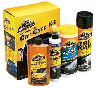 Bộ 4 chai chăm sóc xe Armorall Car Care Kit (Vàng)