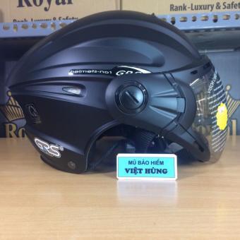 Mũ bảo hiểm GRS A737K (Đen nhám)