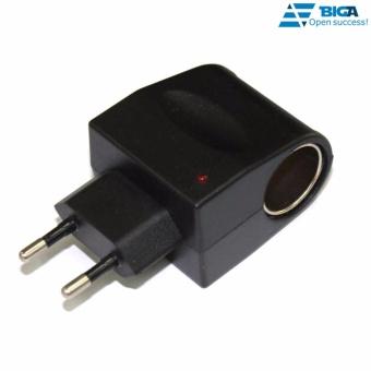 Đầu Cắm Đổi Nguồn Điện 220V - Đầu Cắm Ô TÔ 12V Kiểu F3 US04699