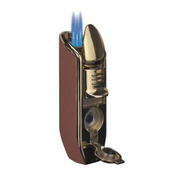 Bật lửa Jobon khò 3 tia ZB 528 (Nâu)