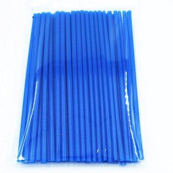 Ống Trang Trí Nan Hoa Xe Máy (xanh da trời)