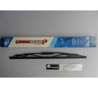 Chổi gạt mưa Korea Viewmax xương cứng CK1-16 inch- 16CK1- Nhập khẩu Hàn Quốc- Xe Toàn Cầu (Đen)
