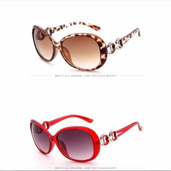 Mắt kính thời trang - MK0036R (Đỏ)