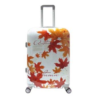 Vali kéo hành lý nhựa hình Maple Leaf xách tay đựng 7Kg TA0057