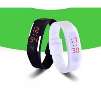 Bộ 2 đồng hồ LED mẫu mới nhất TTP-219 (Trắng đen)
