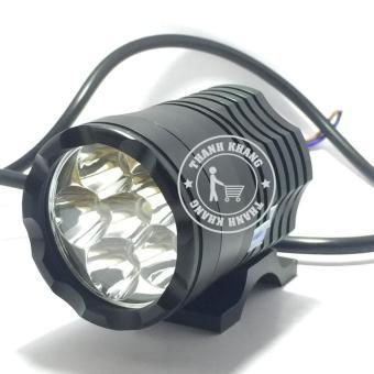 đèn pha led trợ sáng L6 siêu sáng cho oto,xe máy 48w thanh khang